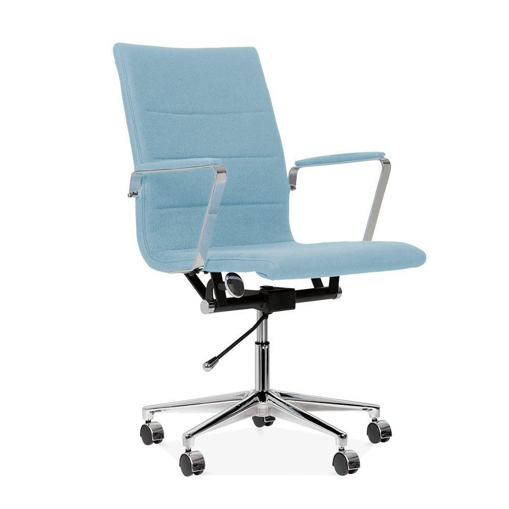Wondrous Cult Living Ellington Office Chair In Cashmere Pastel Blue Ncnpc Chair Design For Home Ncnpcorg