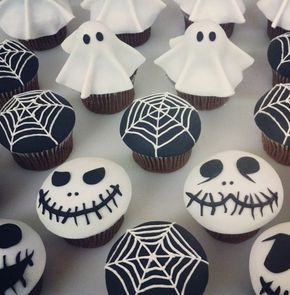 Halloween Party Rezepte - Grusel-Muffins backen #halloweenkuchen