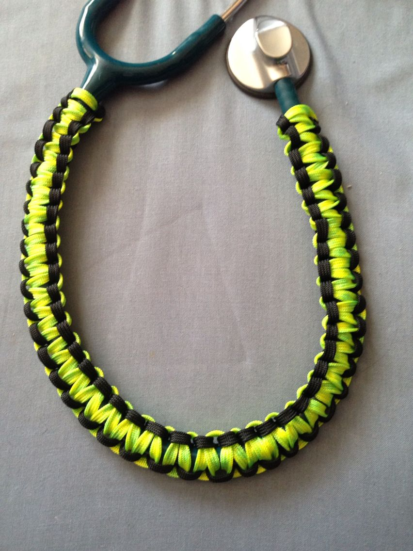 Paracord Stethoscope Cover