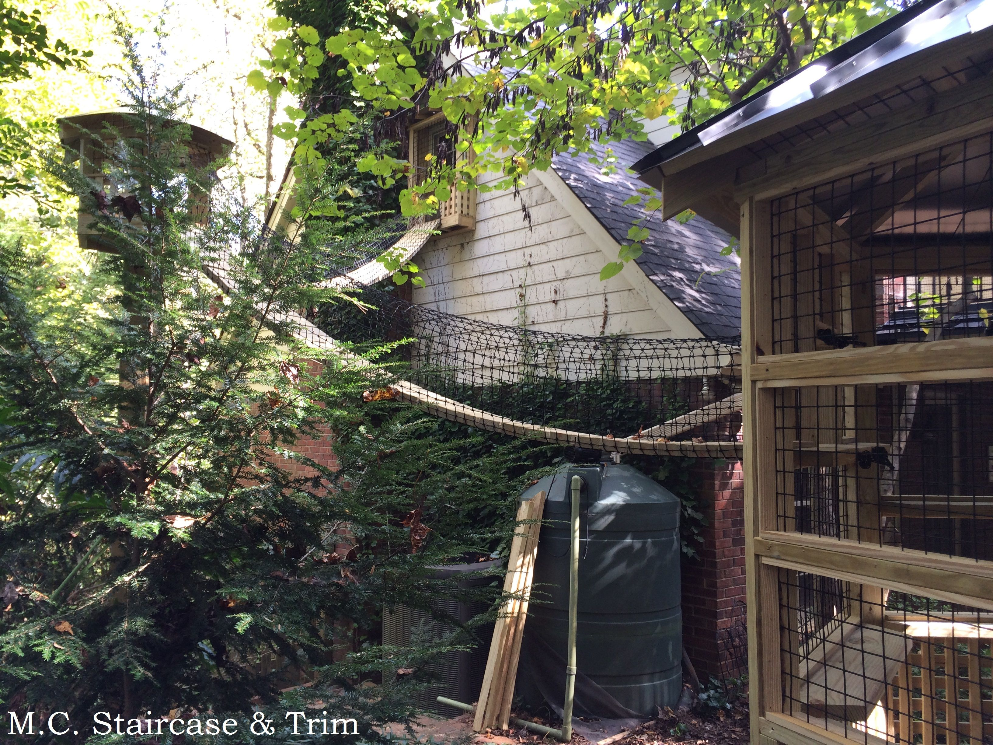 Catio Built And Installed By M C Staircase Trim Catio Includes
