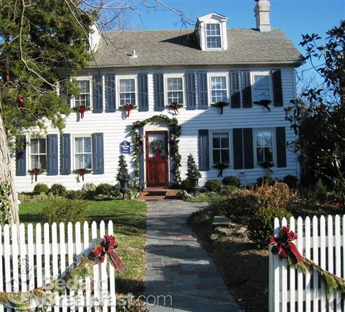 The Eldredge House is part of the Historic House Tour during the Holiday Season.
