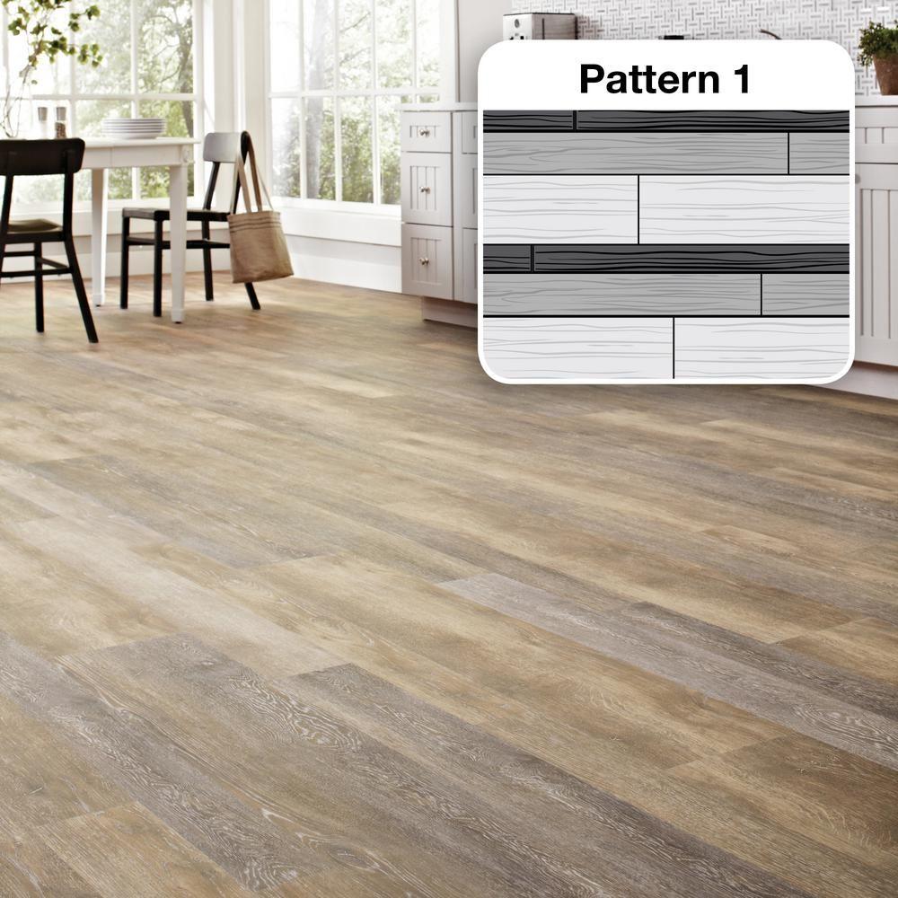Multi-Width x 47.6 in. Walton Oak Luxury Vinyl Plank Flooring ...