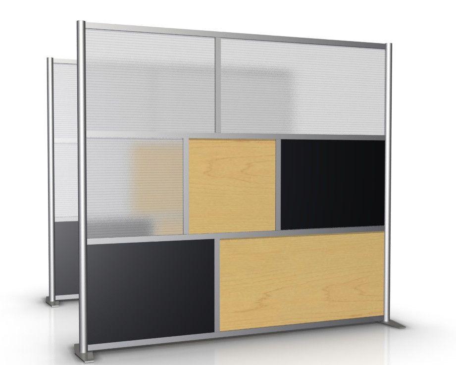 Room Divider Office Partition Model SKU SW8475 3 1S1M1L HTW 2M