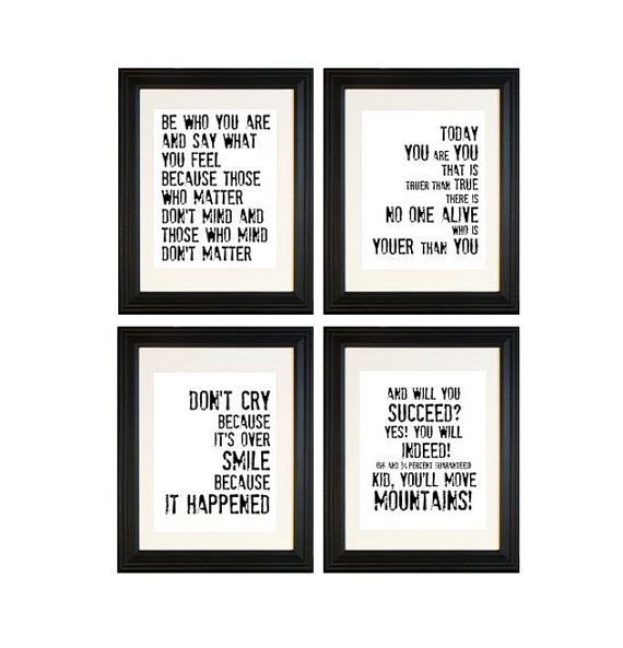 Dr Suess Lover Of All Animals No Matter How Strange I Love These Quotable Prints From Etsy Store Breeding Fancy Dr Seuss Quotes Seuss Quotes Framed Quotes