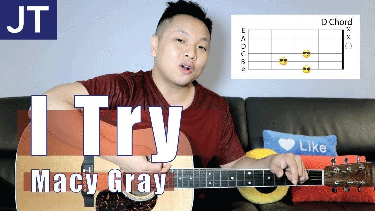 I Try Macy Gray Guitar Tutorial Guitar Seduction Vol1