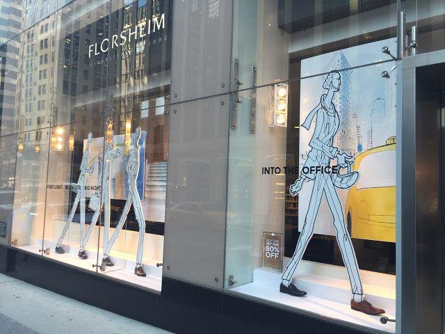 Michael DiMilo: Moving Illustration: Case Study: Madison Avenue Window Display Illustrations