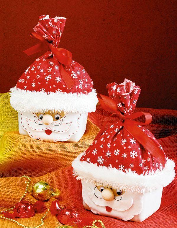15 bellos adornos navide os con materiales reciclados muy for Adornos navidenos sencillos