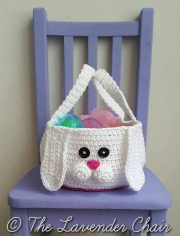 Chubby Bunny Easter Basket Crochet Pattern Easter Patterns Adorable Free Crochet Easter Basket Patterns