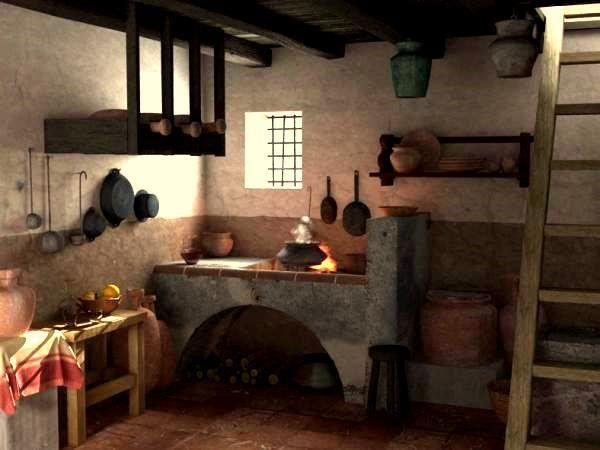 cocina romana en pompeya cuines pinterest gastronomia