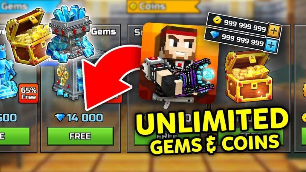 Free Pixel Gun Coins And Gems