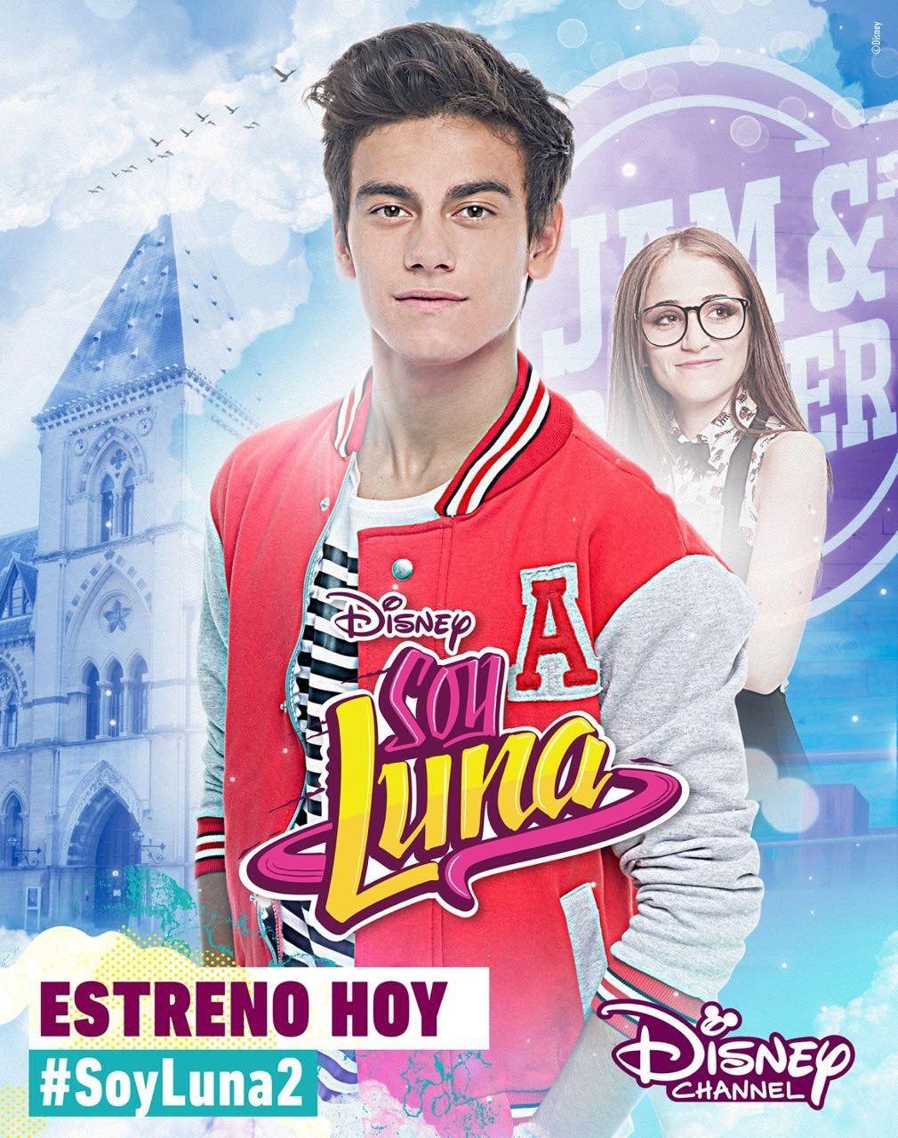 Soy Luna 2 Poster Oficial Do Gastón Disney Channel ünlüler Eski Disney