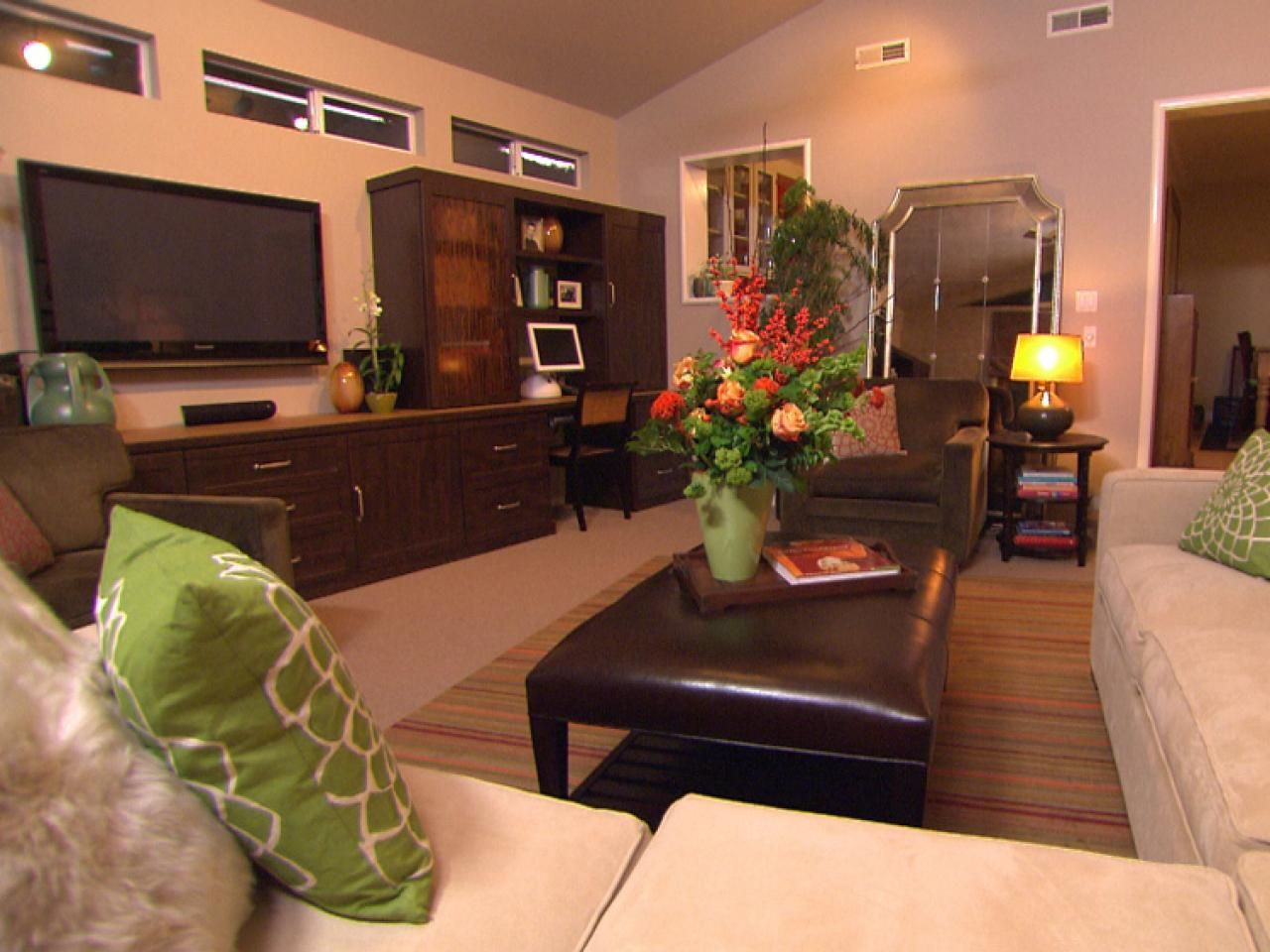 Quick Tips for Home Organization   Living room ...