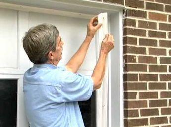 Garage Door Weather Seal Tips and a bunch of energy saving ...