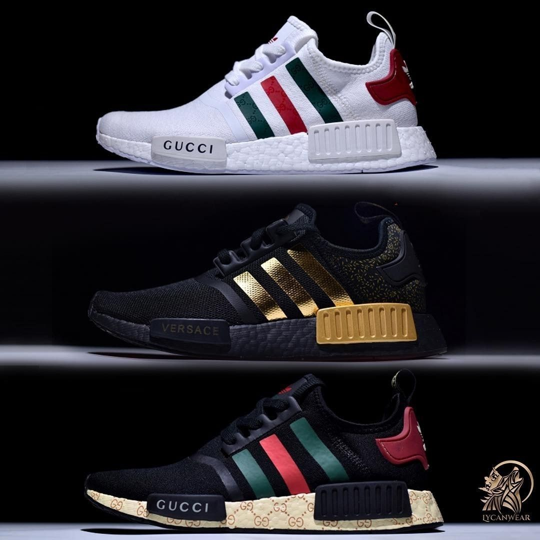 new style 10dad 94add Cheap NMD R1 Gucci Bee Shoes Sale, Buy Adidas NMD R1 Gucci 2018