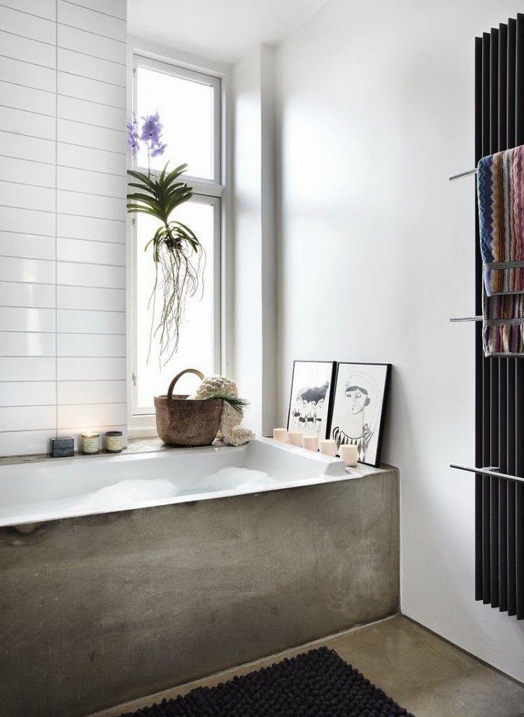 Hoe jij je badkamer zo goedkoop mogelijk inricht | Black radiators ...