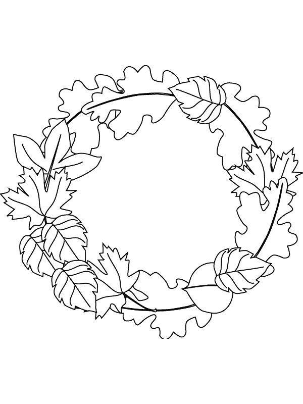 Coloring Page Leaves Leaves Risunki Dlya Raskrashivaniya Raskraski