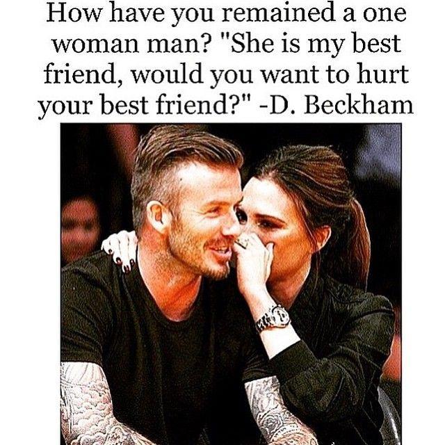 David Beckham Quotes | David beckham quotes, Best friend ...