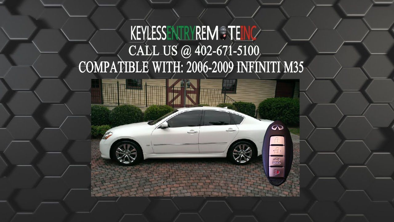 How To Replace An Infiniti M35 Key Fob Battery 2006 2010