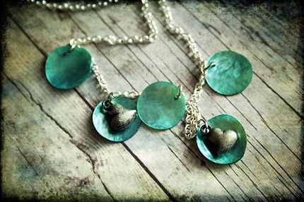 PCOS and being pregnant details.  http://pcos-and-pregnancy.com/ PCOS Teal Awareness Necklace 059