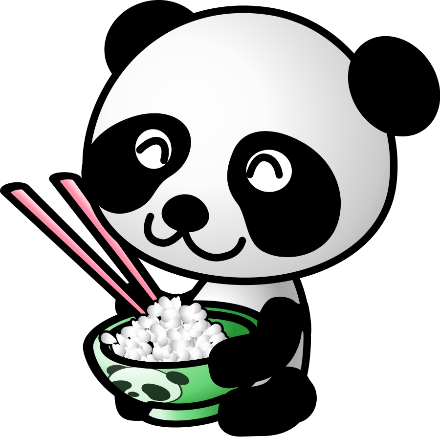 Panda Face Clipart Black And White Clipart Panda Free