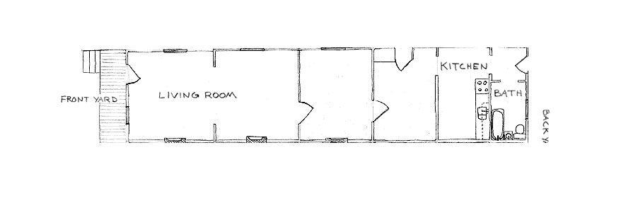 Pin On Plans Floor plan traditional shotgun house