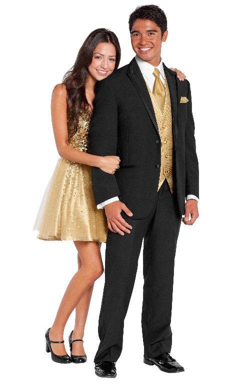 Prom Tuxedo Dress