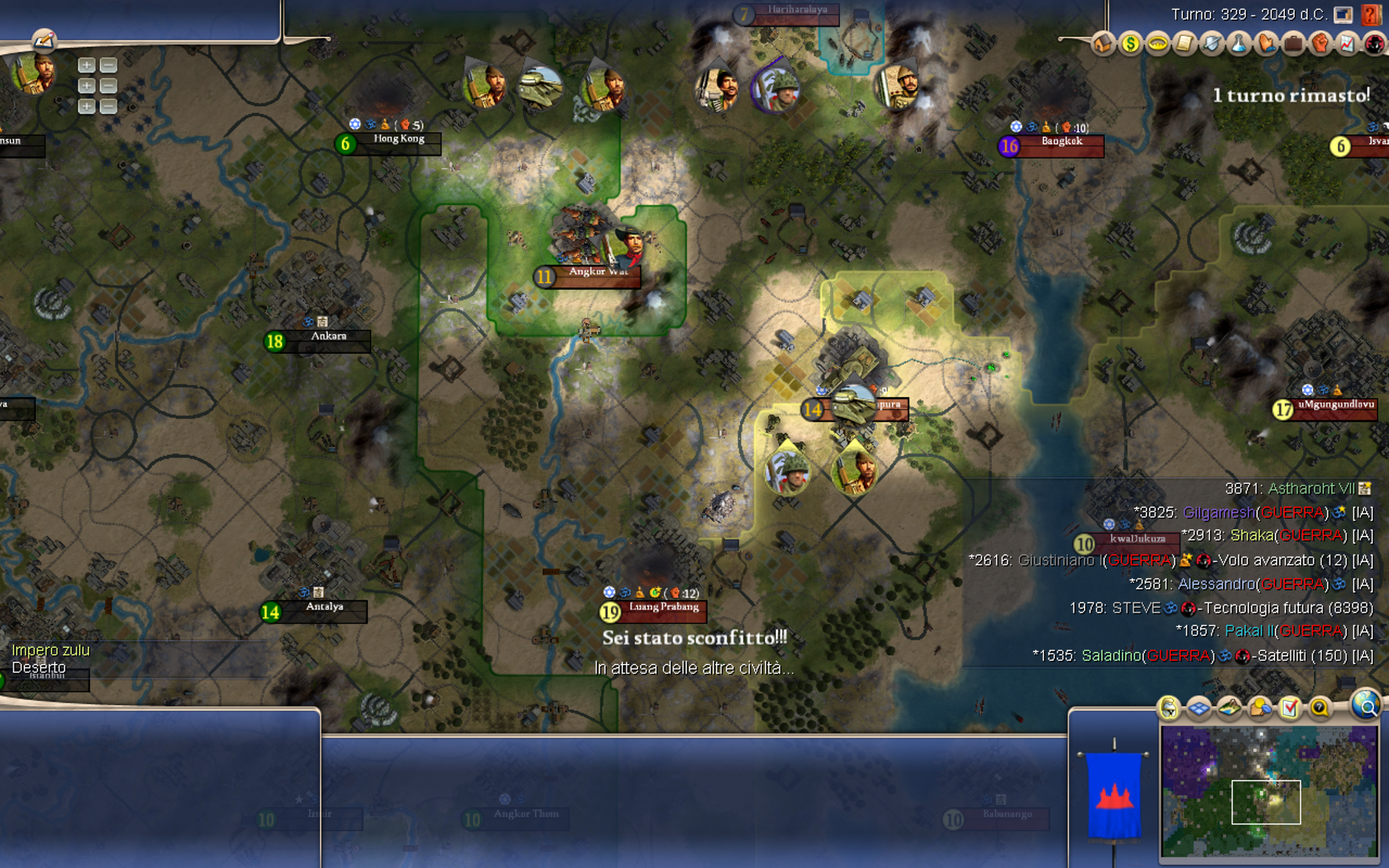 i lost a friendly civ 4 game at the last turn what a way to spend 8