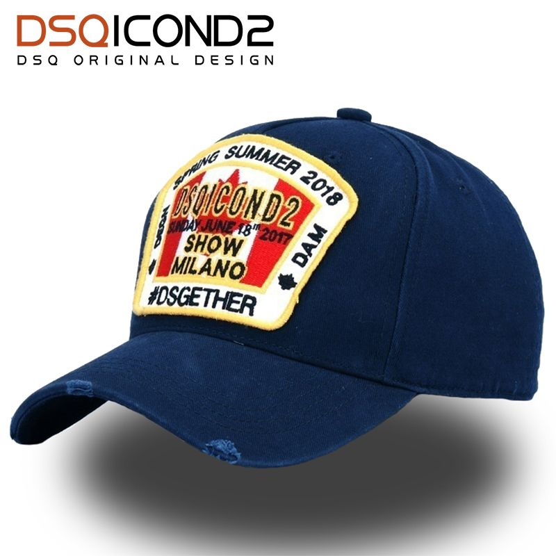 DSQICOND2 2018 GOOD Quality Brand Cap for Women Mens Baseball Caps Gorras  Snapback Caps DSQ Casquette Homme Sport Outdoor Gorras 3b4138eb6db4