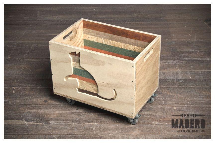 Cajón Gato diseñado por Resto Madero.