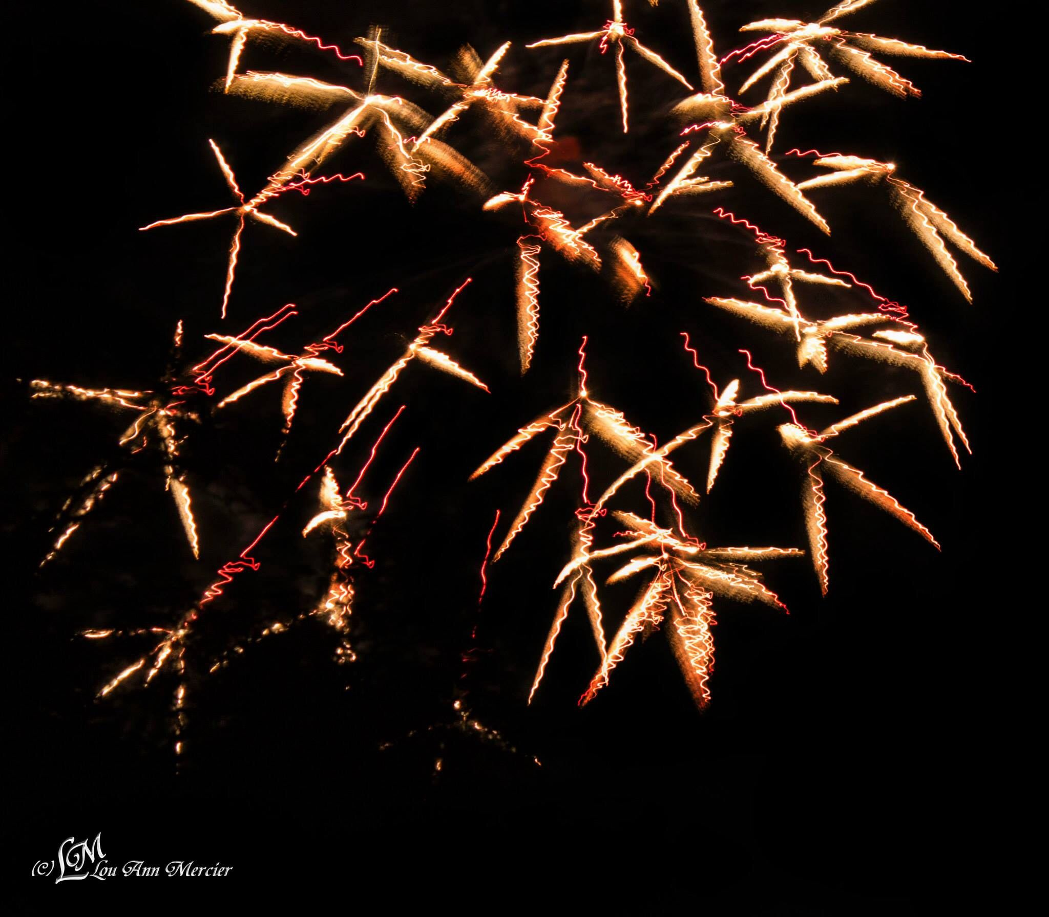 One of my favorites from this weekends fire works in Boonsboro, MD