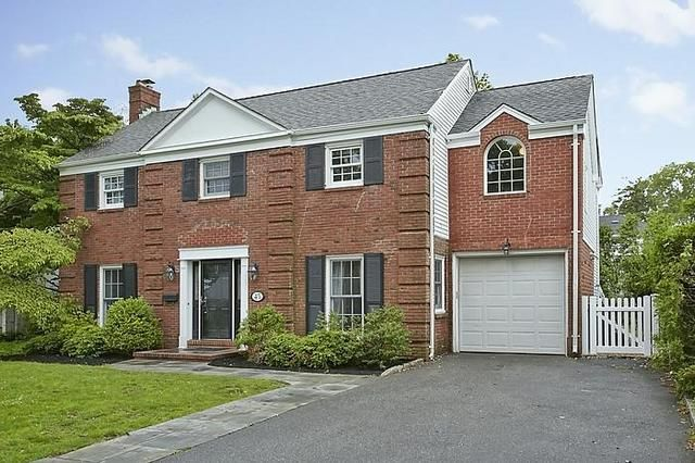 Mott Section Colonial Home At 45 Wyatt Road Garden City Ny With