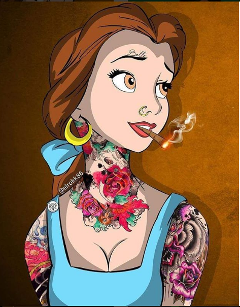 Pin on dopeDisney Princesses Smoking Weed Tumblr