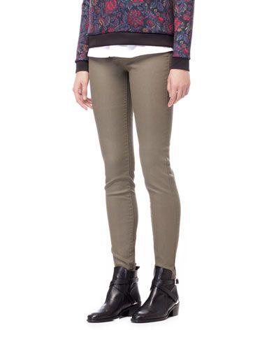 Pantalon résiné