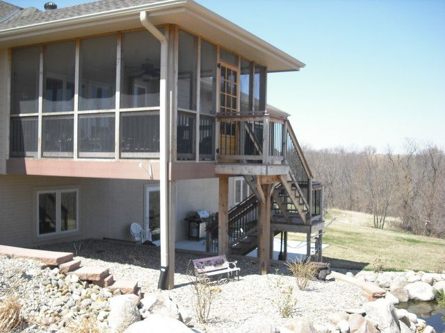Pictures of enclosed decks