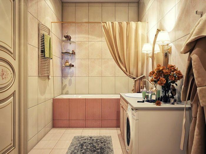 Como decorar un baño pequeño y sencillo económicamente ...