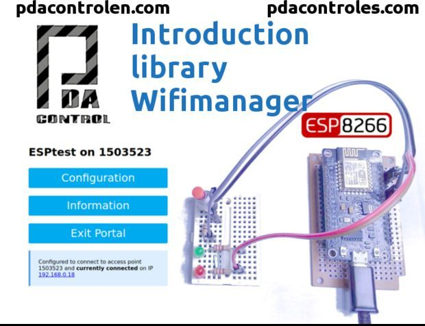 Introduction Library WifiManager for Esp8266   IOT   Arduino