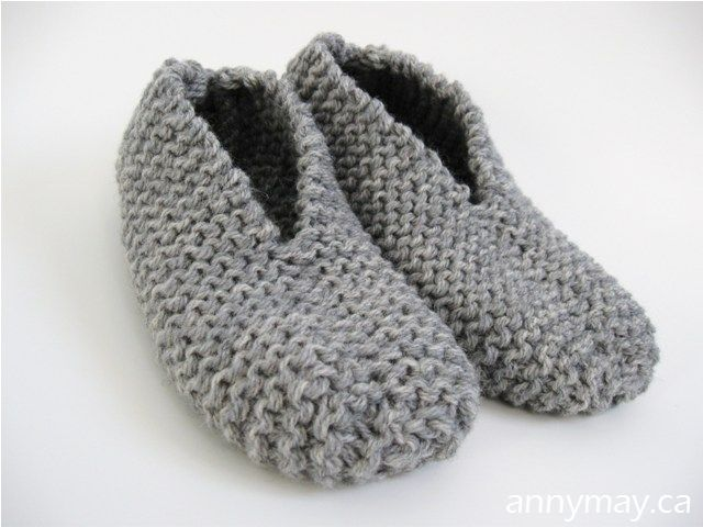 Knitting Easy Slippers : Quick knit stash slippers gathering materials youtube