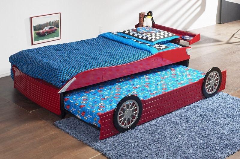 Elegant Fresco Of Race Car Bed For Toddlers, Race Off To Kidsu0027 Dreamland