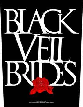 Black Veil Brides Rose Ruckenaufnaher Patch