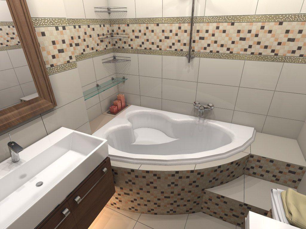 Дизайн ванной комнаты без ванной фото
