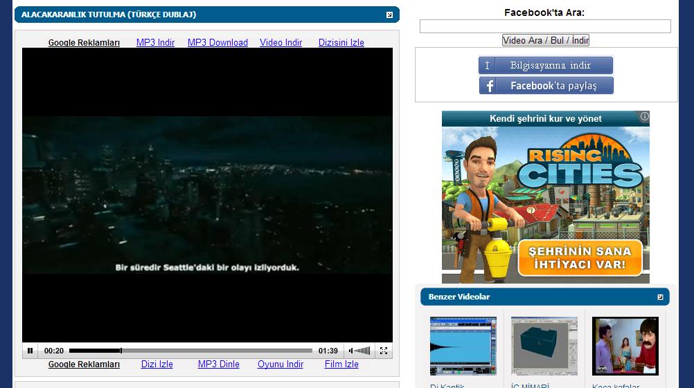 Video indir, Video izle, video paylaş