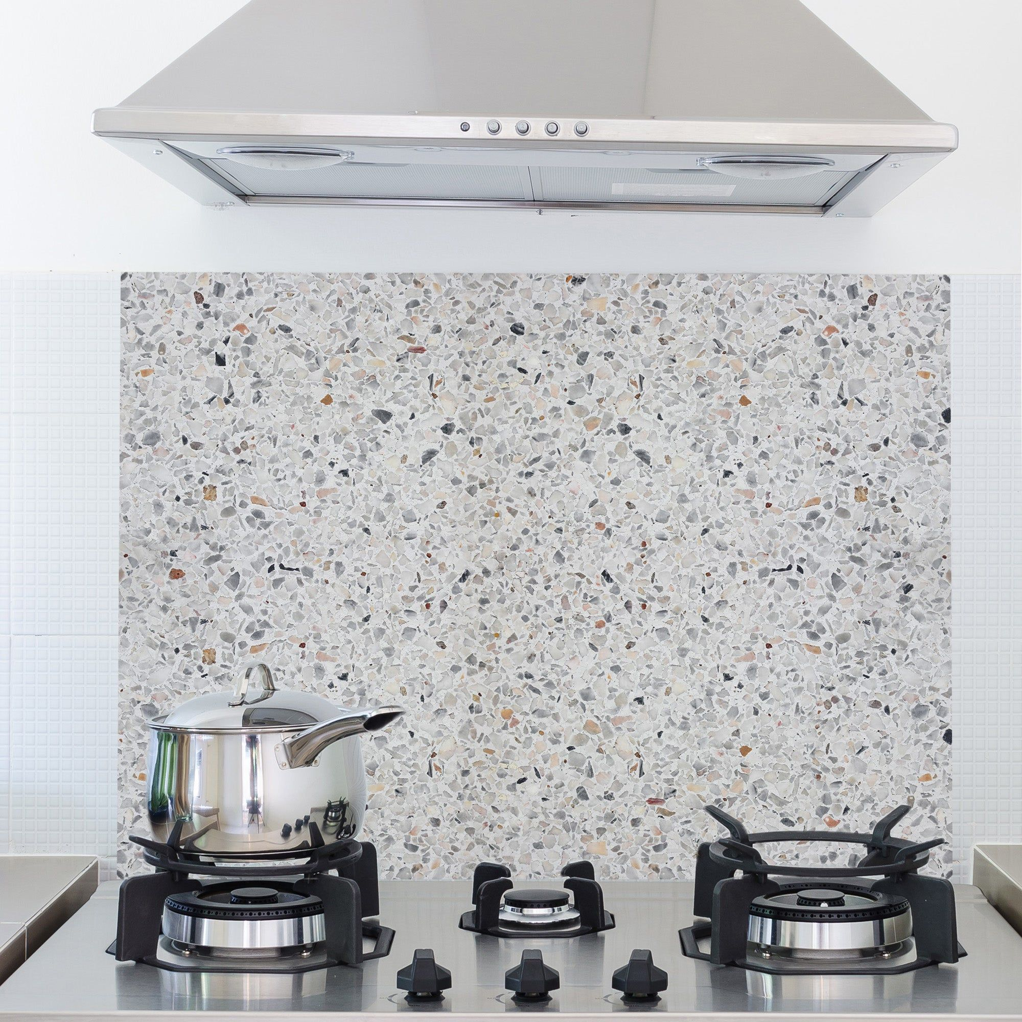 Terrazzo Cement Multicoloured Self Adhesive Kitchen Panel Terrazzo Adhesive Backsplash Wallpaper Panels