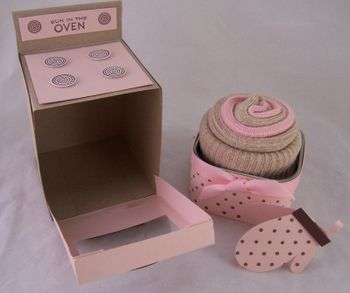 Oven Cupcake Box. This has Brittney writen all over it!