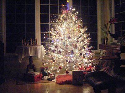 60s aluminum christmas tree - Vintage Aluminum Christmas Tree