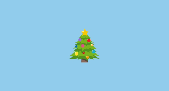 A Decorated Christmas Tree Emoji A Pine Tree Displayed At Christmas Time Usually Adorned With Lights Tinsel Christmas Tree Classic Christmas Tree Tree Emoji