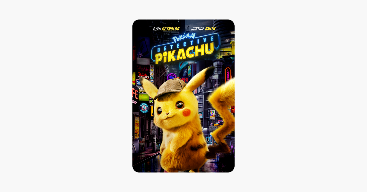 Pokemon Detective Pikachu Rob Letterman In 2020 Detective Pikachu Pokemon