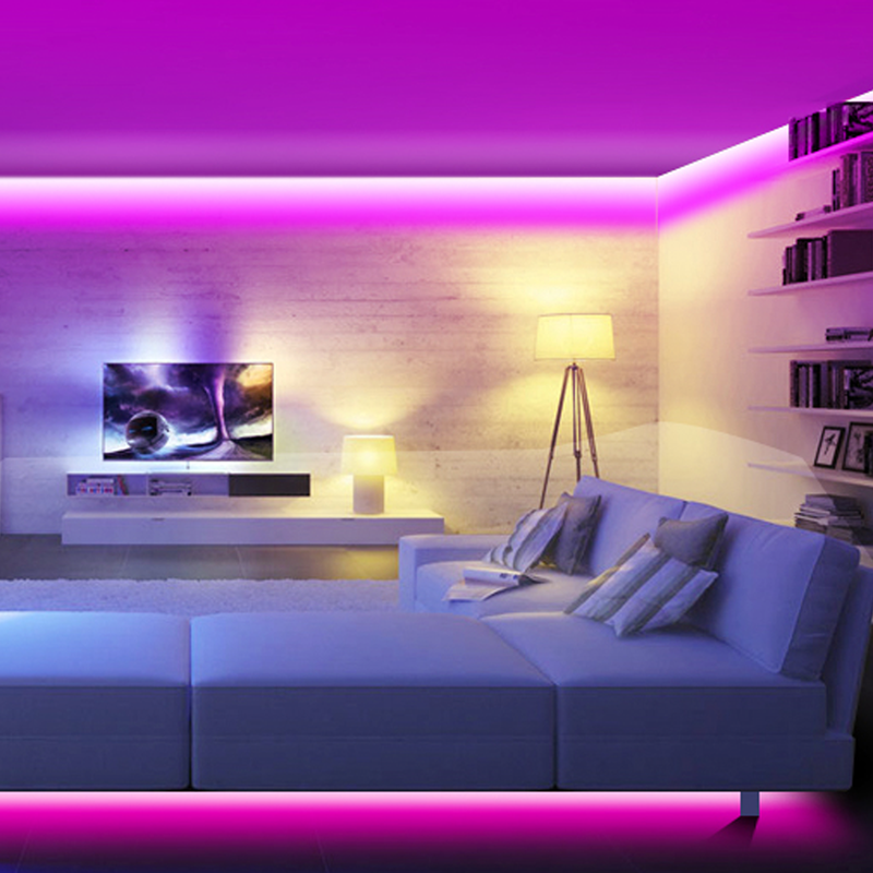 News Create A Cozy Ambience At Home With This Discounted Led Light Strips Kit Led Lighting Bedroom Strip Lighting Wall Lights Bedroom
