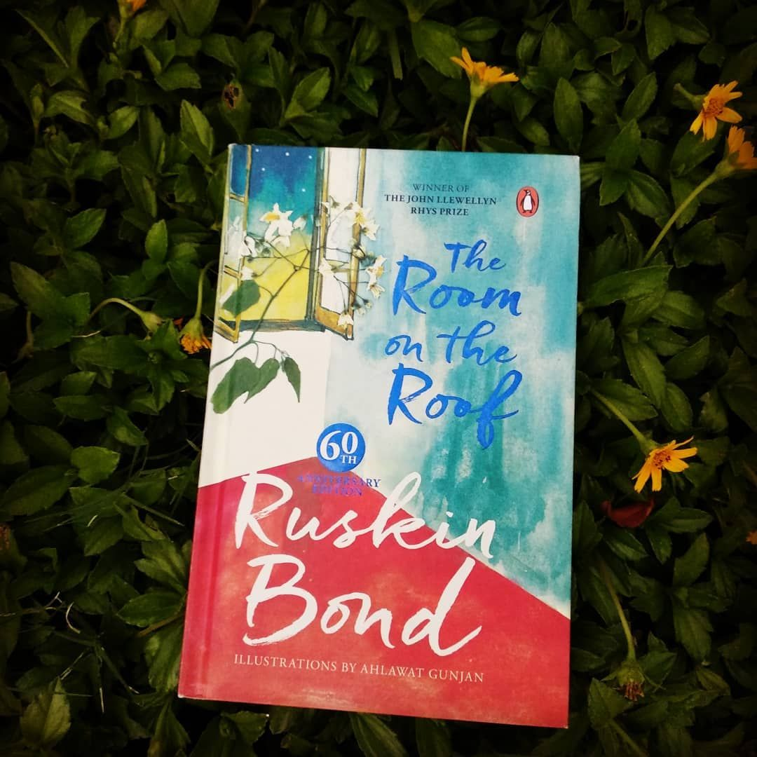 2 Likes 0 Comments Remya Ramdas Remyathebookworm On Instagram Room On The Roof Am A Big Fan Of Ruskin Bond His Books Are Ruskin Bond Book Cover Books