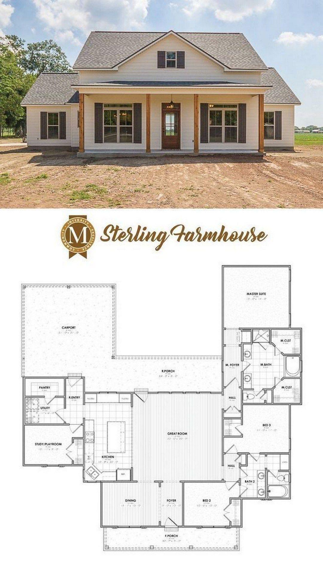 31 Farmhouse House Plans House Plans Farmhouse New House Plans