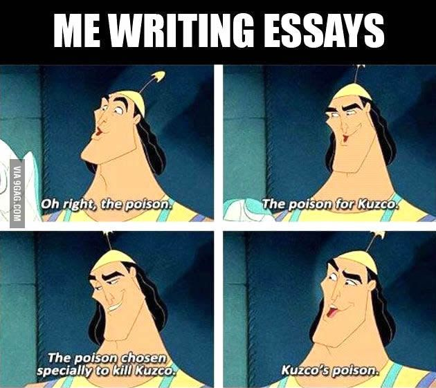 Me when I write essays Pinterest Memes, Humor and disney Pixar